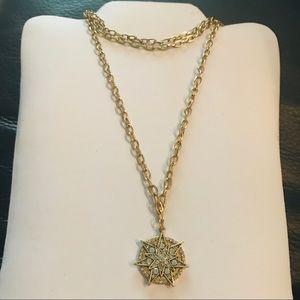 NWT SUGARFIX Layered Choker Necklace with Star